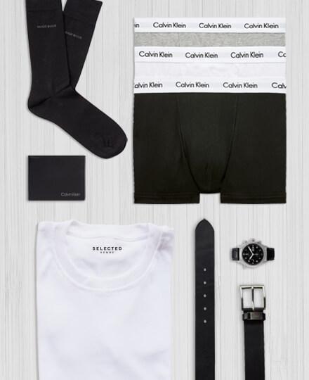 Basics underwear socks accessories