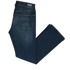 Tommy Jeans Dark Denim - Ryan Atlanta Dark Bootcut Jean