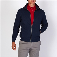 Marco Capelli Navy - Interlock Full Zip