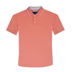 Marco Capelli Coral - Super Stretch Soft Cotton Polo