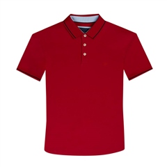 Marco Capelli Red - Super Stretch Soft Cotton Polo
