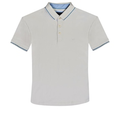 Marco Capelli Off White - Super Stretch Soft Cotton Polo