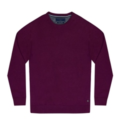 Marco Capelli Cherry - Pima Cotton V-Neck Jumper