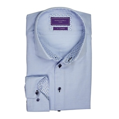 Marco Capelli Light Blue - 100% Cotton Shirt