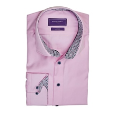 Marco Capelli Pink - 100% Cotton Easy-Care Shirt