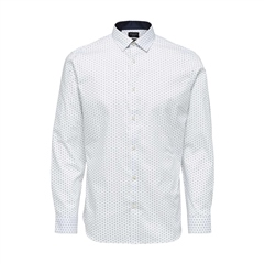 Blue - Slim New Mark Shirt by Selected