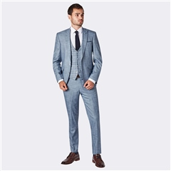 Remus Uomo Blue - Luciano  3-Piece Slim Fit Suit