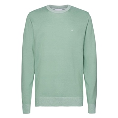 Calvin Klein Green - Cotton Silk Crew Neck Sweater