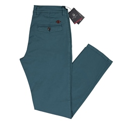 Ocean - Super Stretch Chinos by Marco Capelli