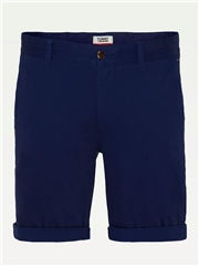 Tommy Jeans Navy - Regular Fit Chino Shorts