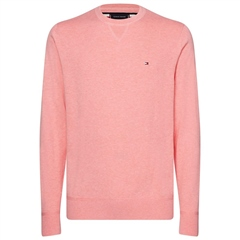 Tommy Hilfiger Pink - Fine-Knit Cotton Sweater