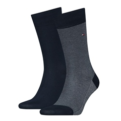 Tommy Hilfiger Dark Navy - Classic 2 Pack Sock