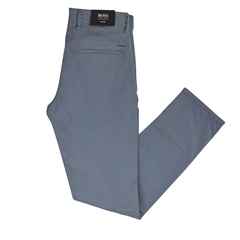 Hugo Boss Blue - Slim-Fit Brushed Cotton Chinos