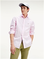 Tommy Hilfiger Pink - Pure Cotton Dobby Shirt