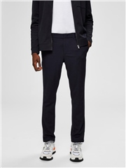 Selected Navy - Jersey Flex Trousers