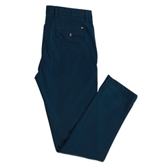 Tommy Hilfiger Teal - Denton Th Flex Satin Chino
