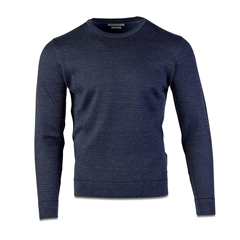 Bugatti Blue - Premium Wool Rice Knit
