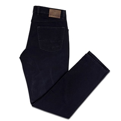 Bugatti Navy - Structured 5 Pocket Cotton Pant