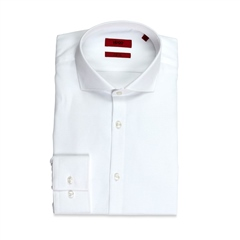 Hugo White - Kason Slim Fit Easy Care Shirt