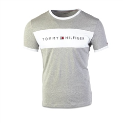 Grey - Jersey T-Shirt by Tommy Hilfiger