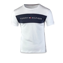White - Jersey T-Shirt by Tommy Hilfiger