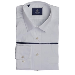 Marco Capelli White - Modern Fit Business Shirt