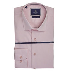 Marco Capelli Pink - Slim Fit Business Shirt