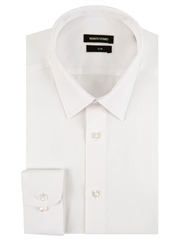 Remus Uomo White - Rome Slim Fit Shirt