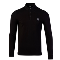 Hugo Boss Black - Passerby Slim Long Sleeve Polo