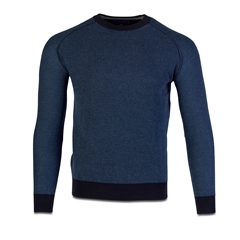 Marco Capelli Navy - Rice Pullover Jumper