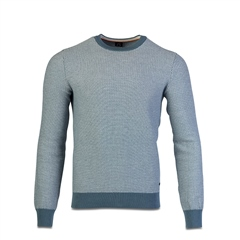 Hugo Boss Teal - Arubyno Cotton Knit