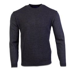 Marco Capelli Charcoal - Structured Rice Knit