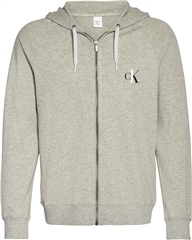 Lt.Grey - One Lounge Terry Zip Through by Calvin Klein