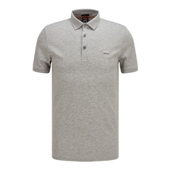 Lt.Grey - Passenger Slim Fit Polo by Hugo Boss