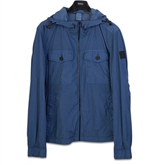 Hugo Boss Navy - Odear Hooded Jacket