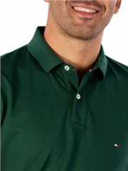 Green - Slim Fit Polo by Tommy Hilfiger
