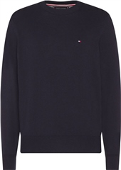 Tommy Hilfiger Navy - Pima Cotton Cashmere Crew Neck Jumper