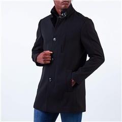 Marco Capelli Black - Fossy Classic Overcoat