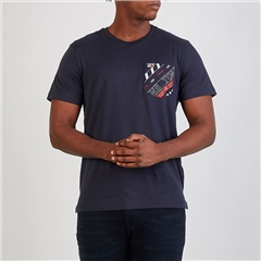 Tommy Jeans Navy - Patch Pocket Short Sleeve T-Shirt