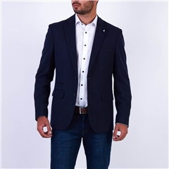 Marco Capelli Navy - Two-Tone Blazer