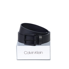 Calvin Klein Black - Essential Ck Boxed Belt 3.5cm