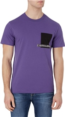 Violet - Institutional Contrast Pocket Tee Ss by Calvin Klein Jeans
