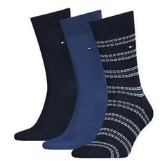 Navy - 3pack Tommy Socks by Tommy Hilfiger