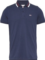 Tommy Jeans Navy - Classics Tipped Collar Polo
