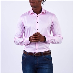 Marco Capelli Pink - Luxury Soft Twill Slim Fit Shirt