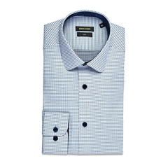 Remus Uomo Blue - Slim Fit Lucas Detail Shirt
