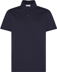 Calvin Klein Navy - Soft Interlock Slim Polo Ss