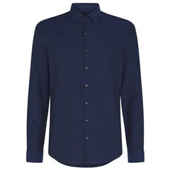 Calvin Klein Navy - Dobby Easy Care Slim Shirt