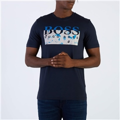 Hugo Boss Dark Blue - Thady Graphic  Tee