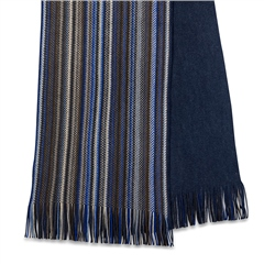 Michaelis Blue - Knitted Scarf